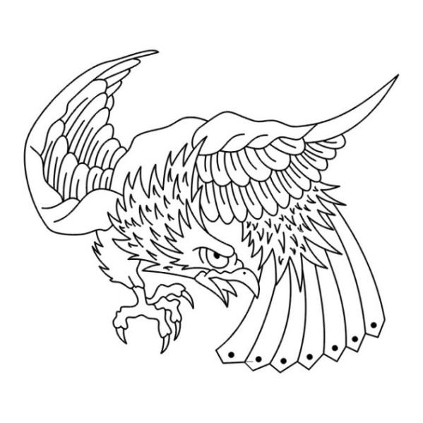 Malvorlagen Zum Drucken Ausmalbild Adler Kostenlos 2