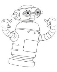 Ausmalbild Astro Boy kostenlos 2
