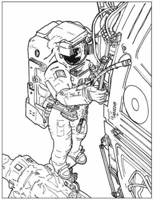 Niedlich Astronaut Helm Malvorlagen Zeitgenössisch - Entry Level ...