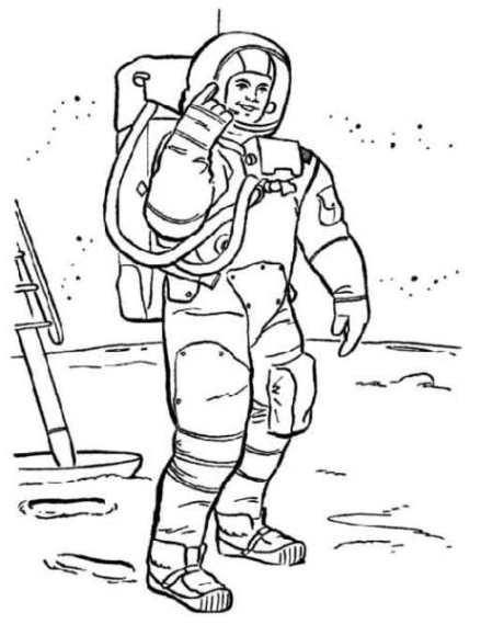 malvorlagen zum drucken ausmalbild astronaut kostenlos 3