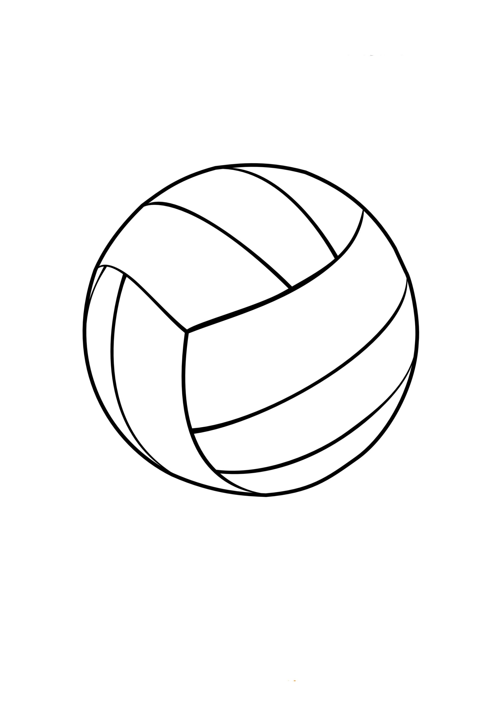 Malvorlagen zum Drucken Ausmalbild Ball kostenlos 3