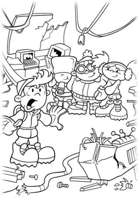 Malvorlagen zum Drucken Ausmalbild Deckname Kids Next Door kostenlos 2