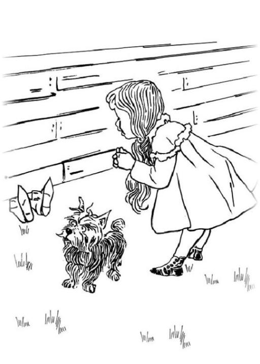 Malvorlagen Zum Drucken Ausmalbild Der Zauberer Von Oz