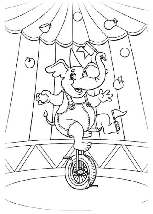 ausmalbilder elefant kostenlos drucken  kostenlos zum