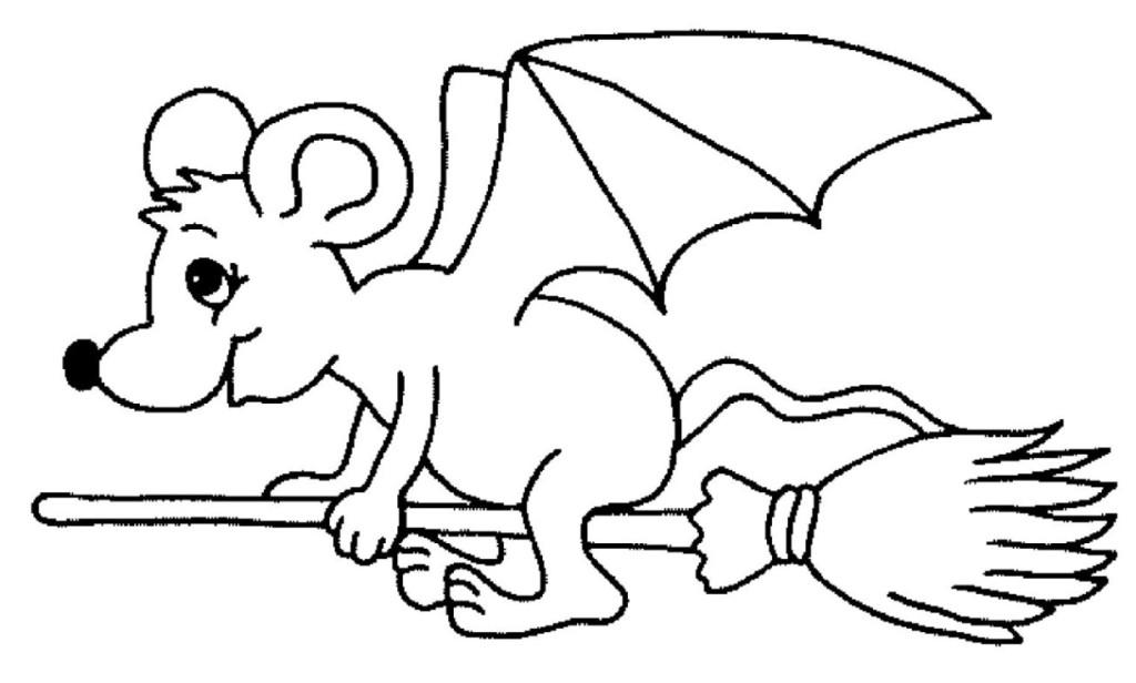Malvorlagen Zum Drucken Ausmalbild Fledermaus Kostenlos 1