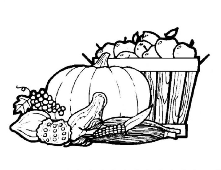 Malvorlagen Zum Drucken Ausmalbild Gemüse Kostenlos 2