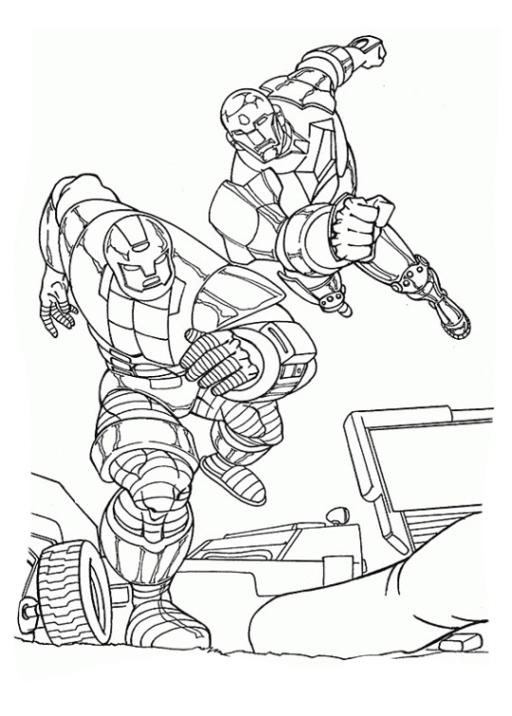Ausmalbild Iron Man Ausmalbilder Kostenlos Zum Ausdrucken: Malvorlagen Zum Drucken Ausmalbild Iron Man Kostenlos 2