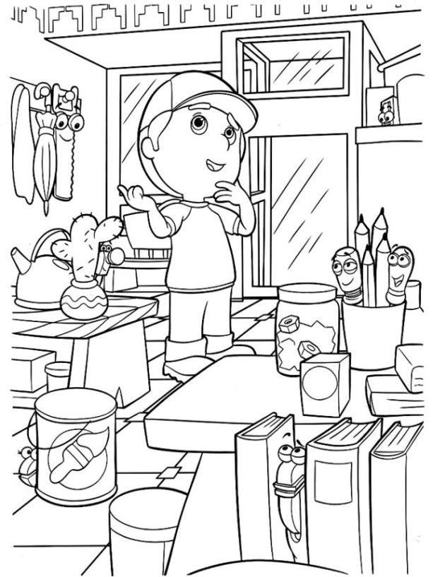 Ausmalbilder Küche Zum Ausdrucken: Malvorlagen Zum Drucken Ausmalbild Küche Kostenlos 2