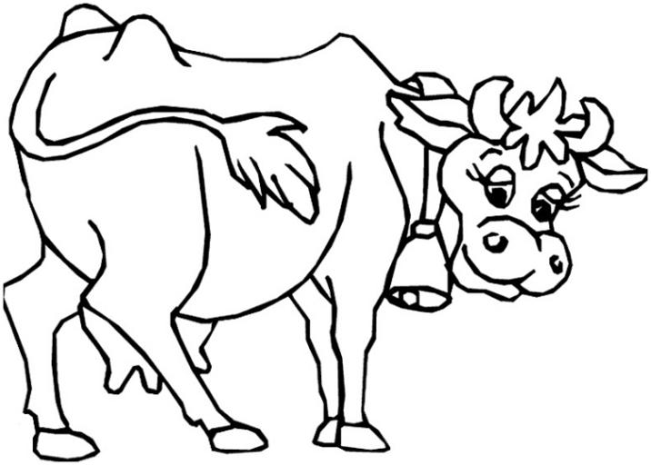 Malvorlagen Zum Drucken Ausmalbild Kuh Kostenlos 6