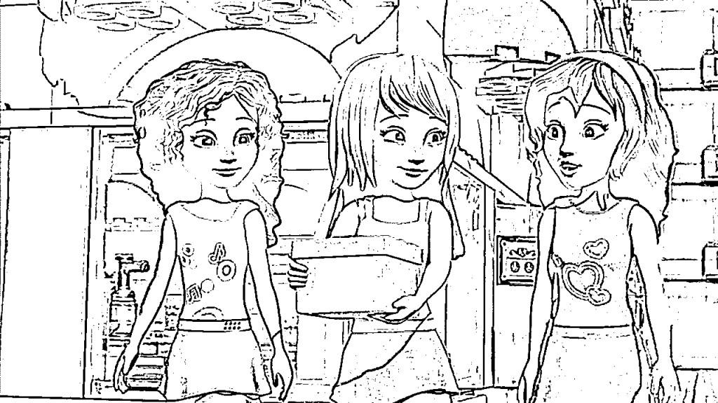malvorlagen zum drucken ausmalbild lego friends kostenlos 5
