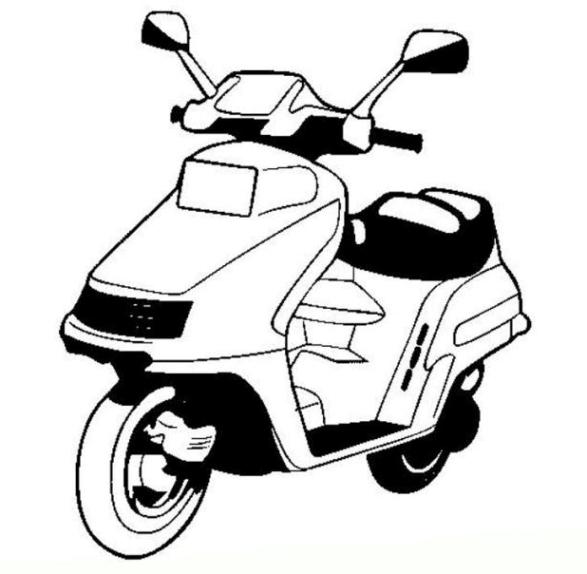Malvorlagen Zum Drucken Ausmalbild Motorrad Kostenlos 1