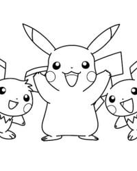 Ausmalbild Pokemon kostenlos 1