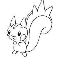 Ausmalbild Pokemon kostenlos 2
