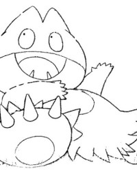 Ausmalbild Pokemon kostenlos 3