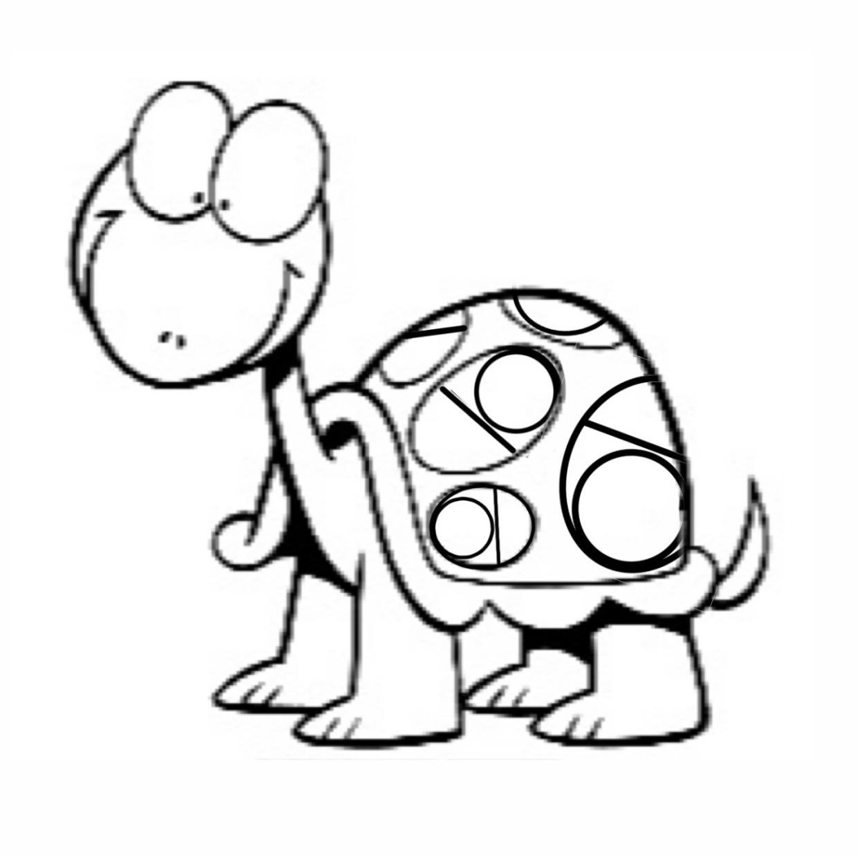 Ungewöhnlich Schildkröte Ausmalbild Zeitgenössisch - Malvorlagen Von ...