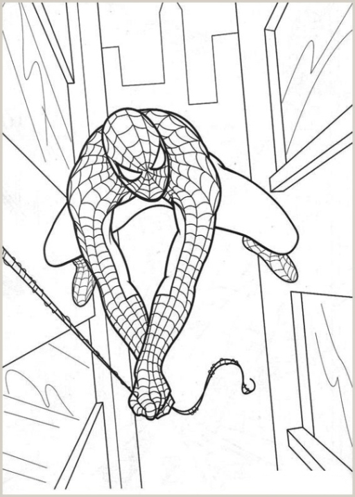 Malvorlagen Zum Drucken Ausmalbild Spider Man 2 Kostenlos 1