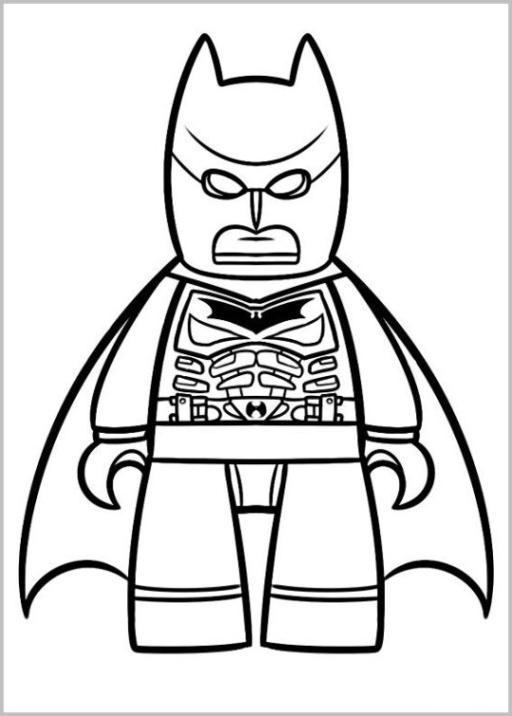 Malvorlagen Zum Drucken Ausmalbild The Lego Movie Kostenlos 3