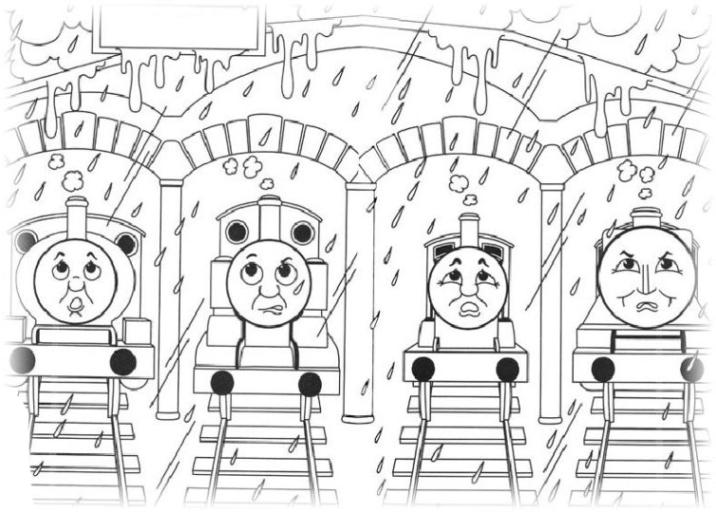 Malvorlagen Zum Drucken Ausmalbild Thomas Die Kleine Lokomotive