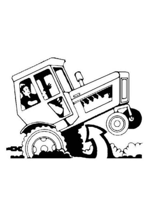Malvorlagen Zum Drucken Ausmalbild Traktor Kostenlos 1