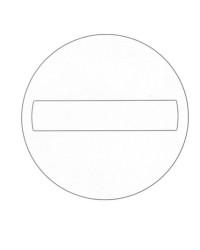 Ausmalbild Verkehrszeichen kostenlos 2