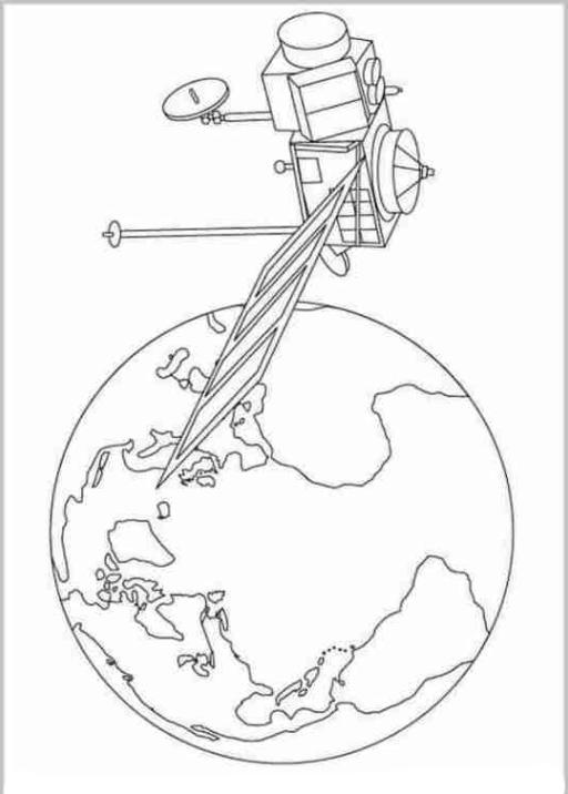 Malvorlagen Zum Drucken Ausmalbild Weltraum Kostenlos 2