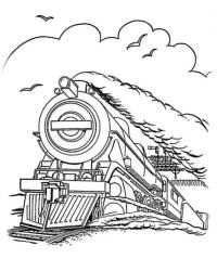 Ausmalbilder Von Zug Kostenlos Zum Ausdrucken