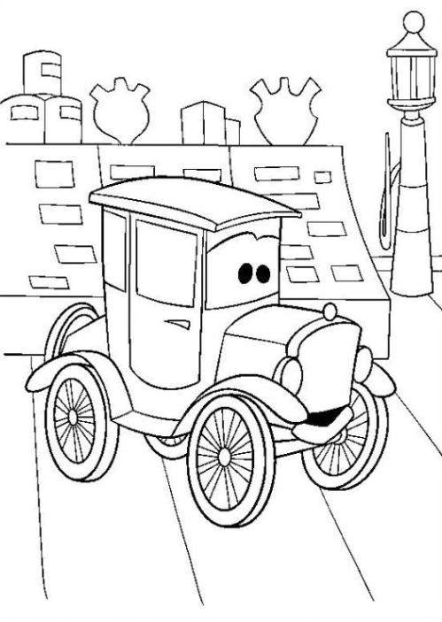 malvorlagen zum drucken ausmalbild cars kostenlos 1