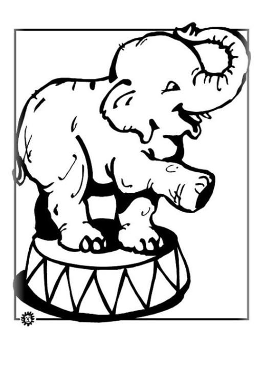 ausmalbilder elefant kostenlos drucken - kostenlos zum