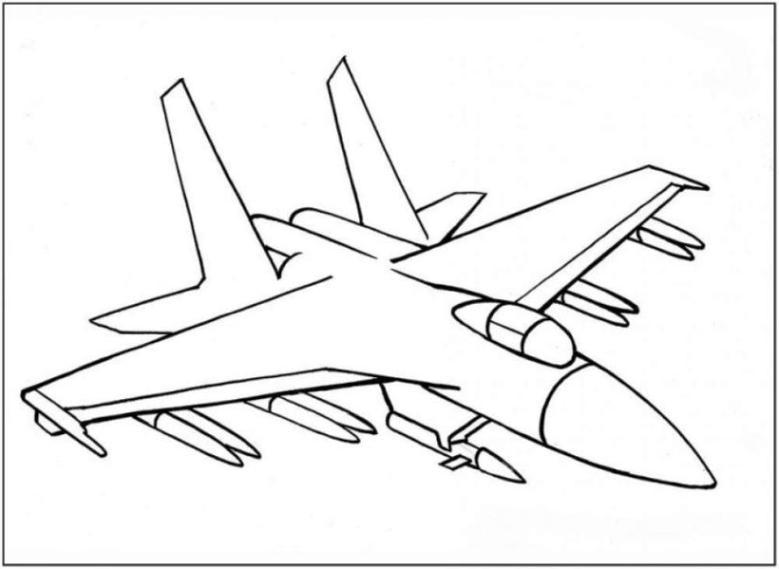 malvorlagen zum drucken ausmalbild flugzeug kostenlos 3