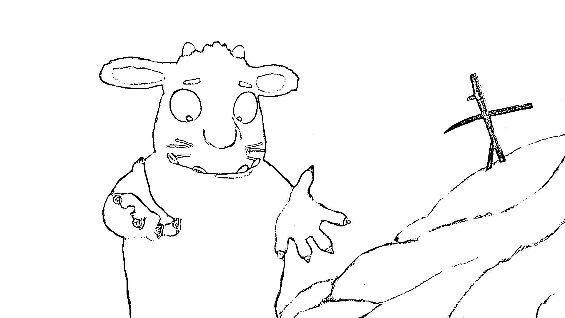 malvorlagen zum drucken ausmalbild grüffelo kostenlos 1