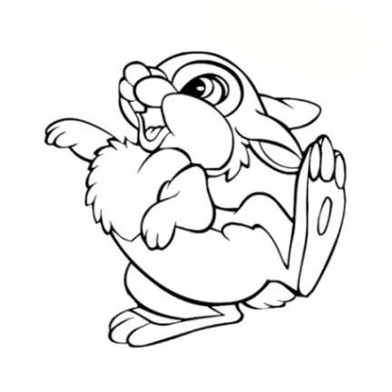 malvorlagen zum drucken ausmalbild kaninchen kostenlos 2