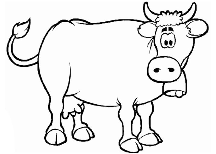 Malvorlagen Kuh Zum Ausdrucken Malvorlagencr