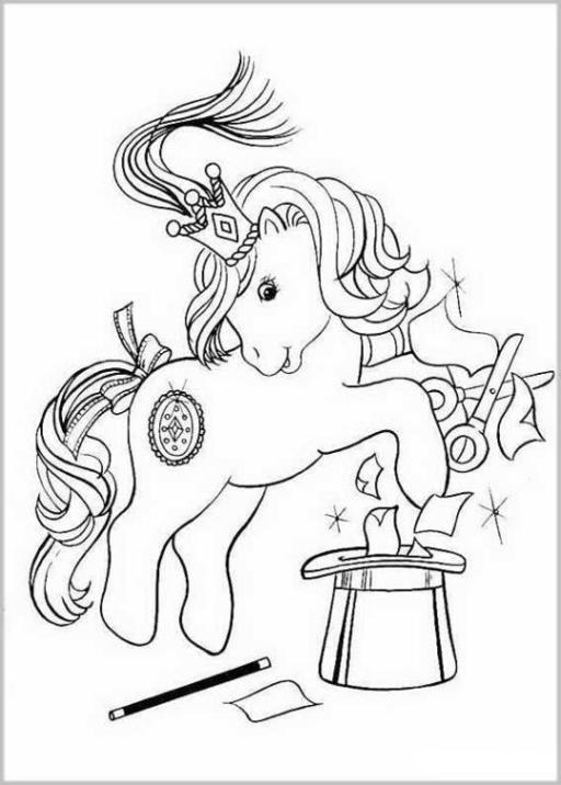 malvorlagen zum drucken ausmalbild my little pony kostenlos 2